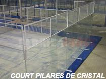 Court Pilares de Cristal