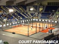 Original verwendeter Panoramica Court bei der WM 2014 in Palma de Mallorca